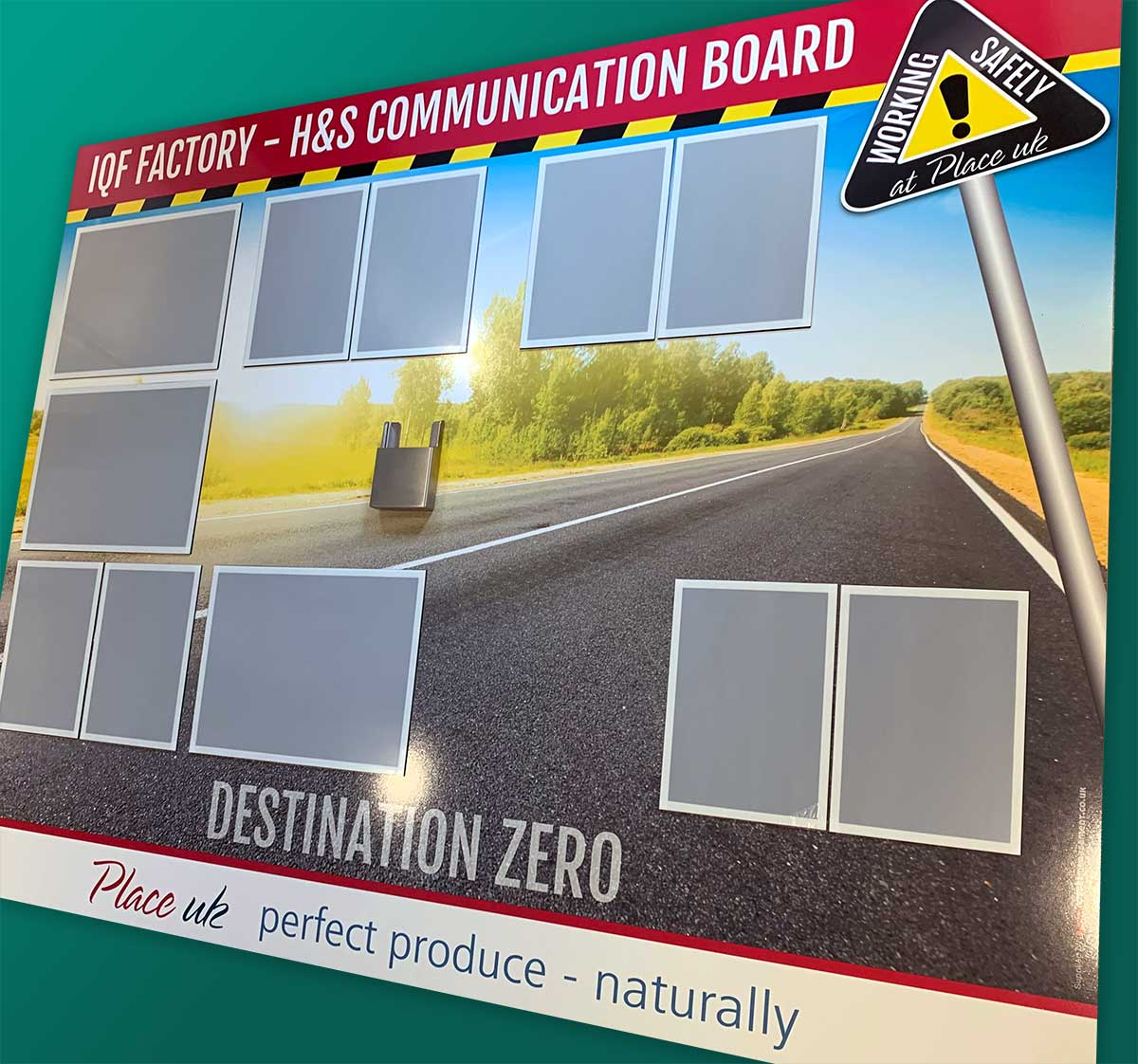 Visual Management - Comms Board