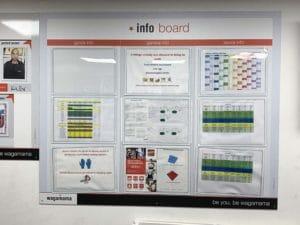 custom noticeboard