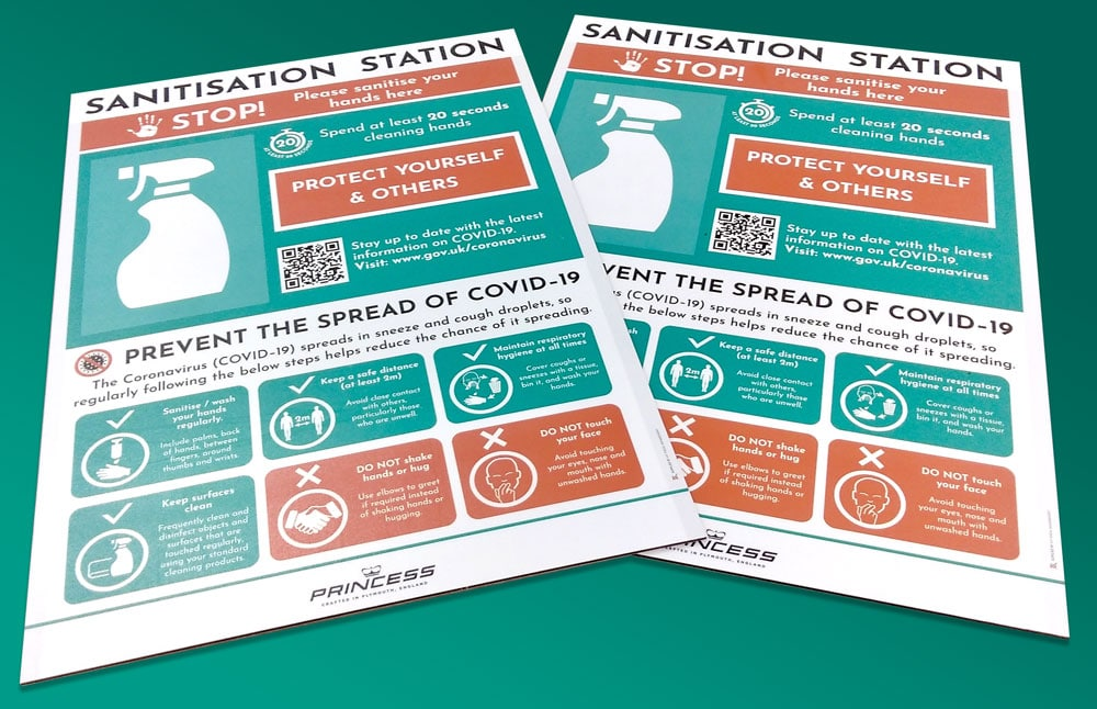 Hand Sanitisation Stations