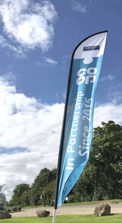 outdoor visual management flag