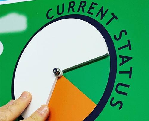 Current Status dial