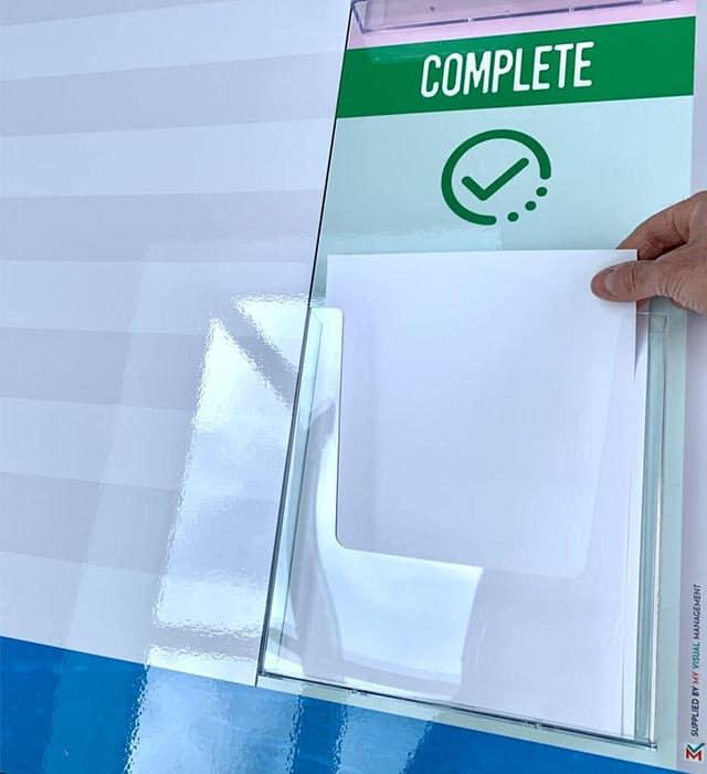 Document holder multiple sheets