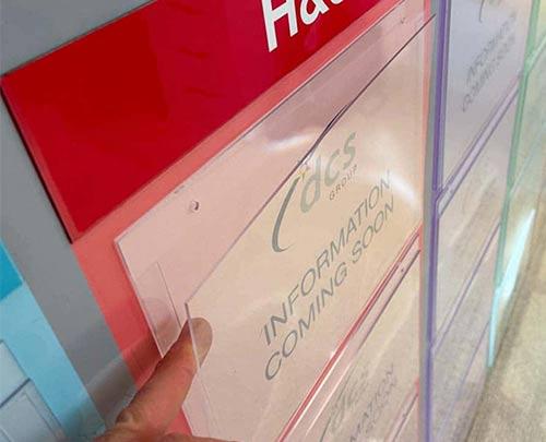 Single sheet document holder