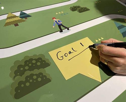 Magnetic label goals road map