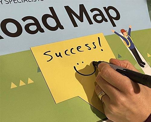 Magnetic label success goals road map