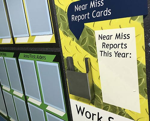 Near Miss Cards ticket holder