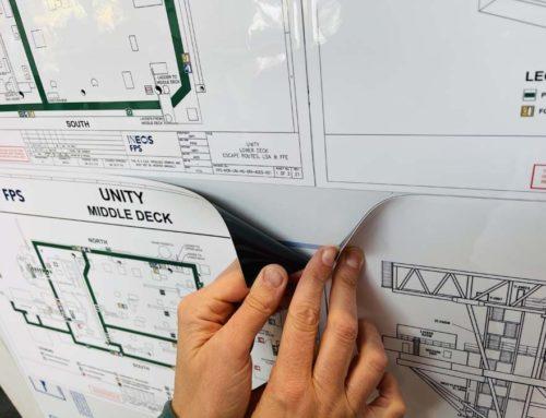 Custom printed magnetic overlays