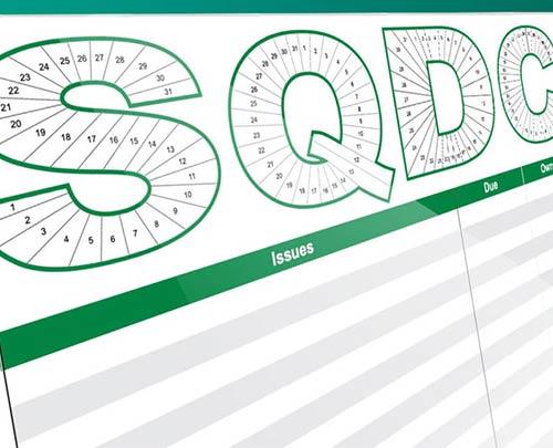 SQDC green board